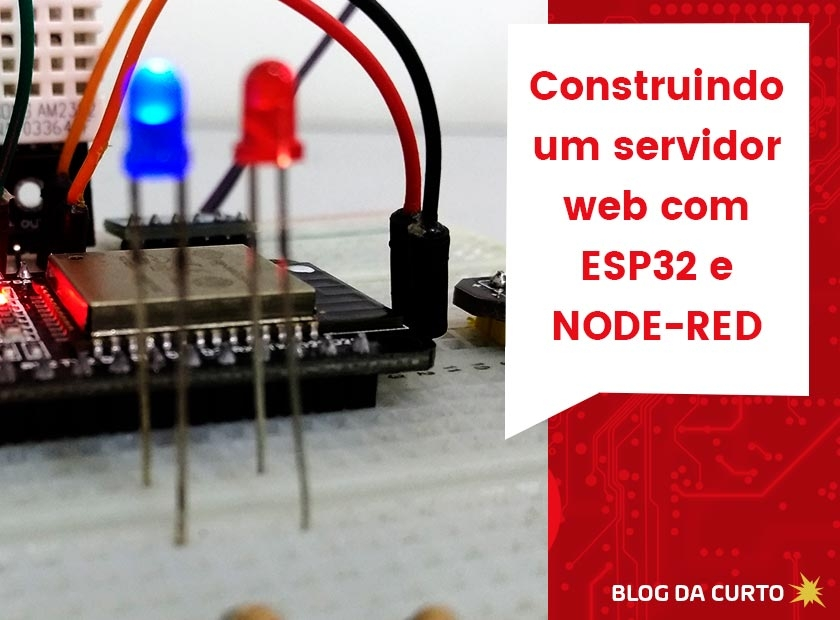 Tutorial Node Red para ESP32 | Curto Circuito