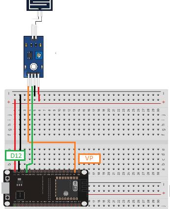 Conectando o sensor de chuva ao ESP32