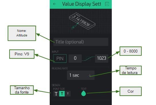 Ferramenta utilizada para exibir valores numéricos em um display