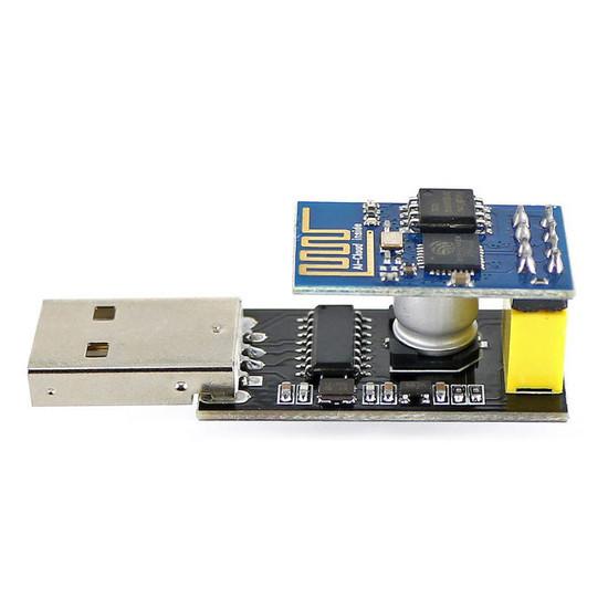 Figura 34- Conversor USB/Serial conectado ao ESP-01