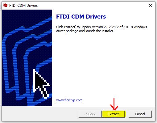 Figura 7-  Passo 3 para baixar o driver da FTDI