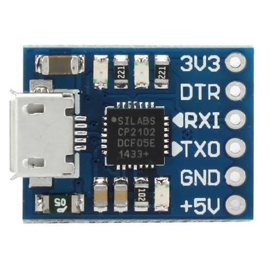 Figura 30- Conversor USB/Serial-UART-CP2102-Micro USB