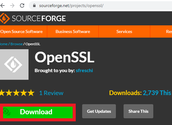 download openssl