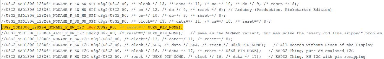 código u8g2