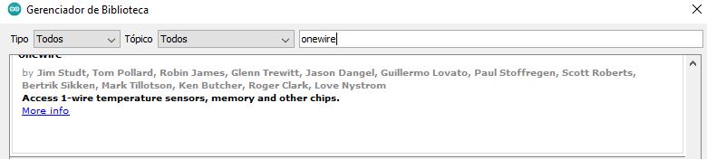 onewire biblioteca